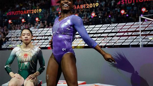Gymnastik-fænomen sætter rekord med 25 VM-medaljer