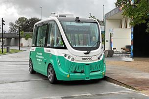 Førerløs bus har kørt sin jomfrutur i Aalborg: Indtil videre må den blive i garagen
