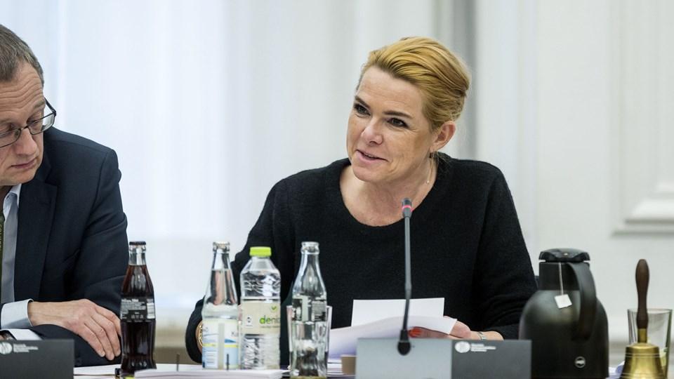Udlændinge- og integrationsminister Inger Støjberg (V) vil sætte en stopper for genopdragelsesrejser. Foto: Scanpix/Uffe Weng/arkiv