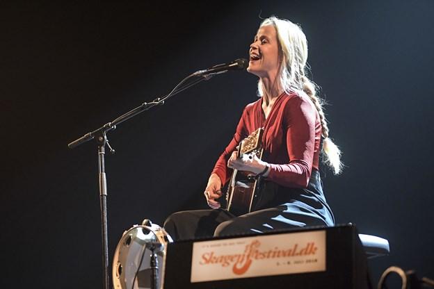 Tina Dickow gæster Musikkens Hus med en tredje koncert i januar.Arkivfoto: Bent Bach