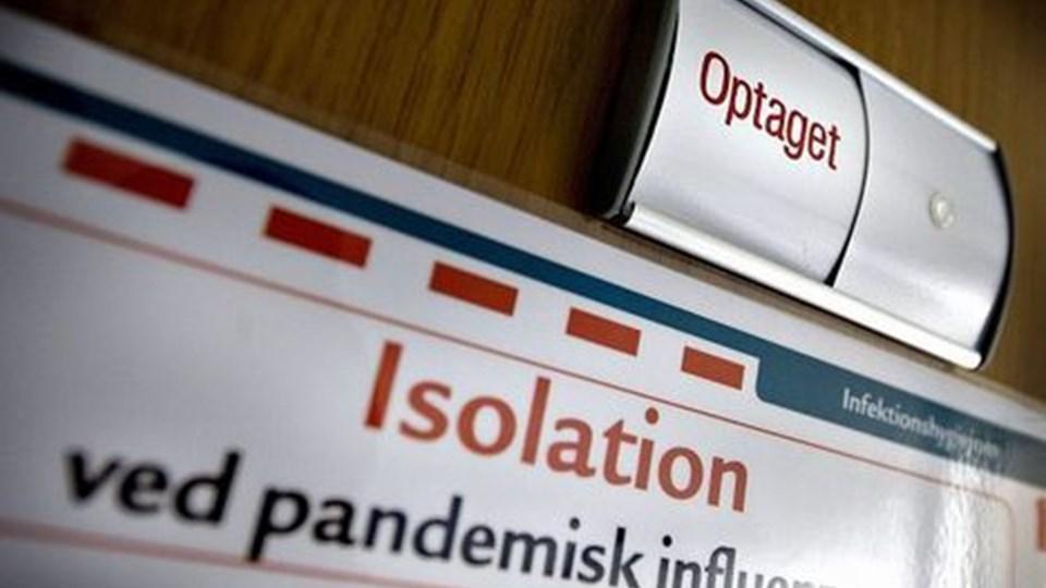 En chauffør fra Pandrup er første kendte danske offer for H1N1. Vognmanden, der rejste med den smittede chauffør, var en overgang indlagt på Aalborg Sygehus, men er rask og udskrevet. Arkivfoto: Torben Hansen