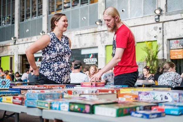 Entusiasterne fra Spilhylden står klar til at hjælpe med at finde det rette spil og forklare reglerne.