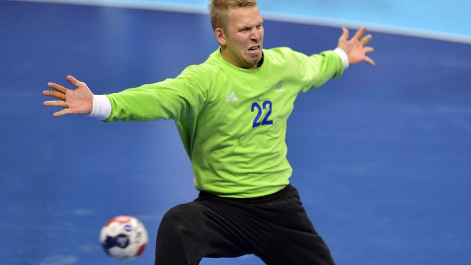 Den svenske målmand Johan Sjöstrand spillede i Aalborg Håndbold fra 2012 til 2013. (Arkivfoto)