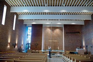 Guds hus oplyst med LED: Miljøvenlige kirker værner om Guds skaberværk
