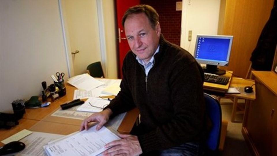 Efterforskningsleder ved Thisted Politi Andreas Søgaard betegner samarbejdet med kommunens familieafdeling for fantastisk.  Arkivfoto