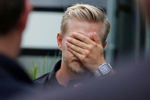 Magnussen starter bagerst i Japan efter uheld i kvalifikation
