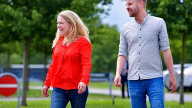 Dobbelt lykke: Nygift politiker er gravid