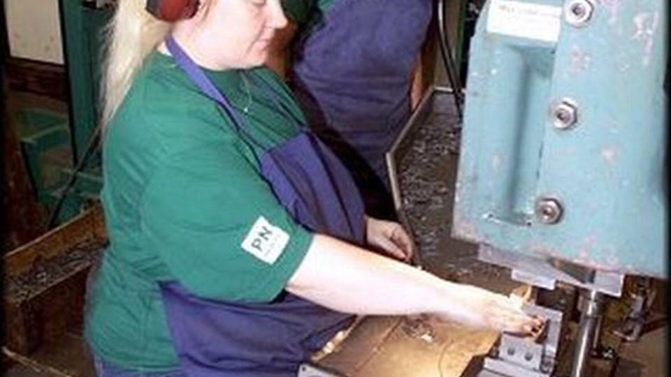 Metal-ansatte i Brønderslev tjener ca. 40.000 mindre end deres kollegaer.   ARKIVFOTO: Kurt Bering