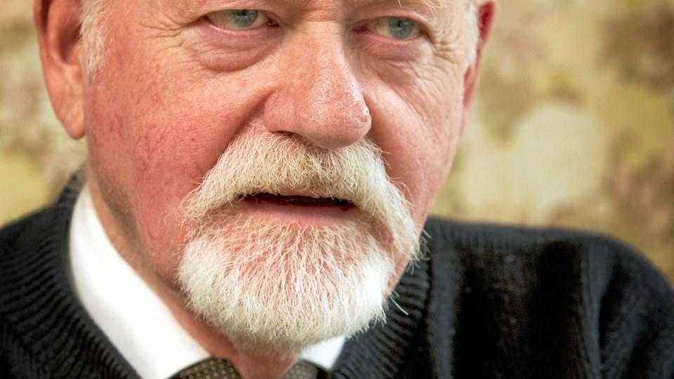 Den tidligere PET-politimand Hugo Mortensen fortæller underholdende og med masser af humor om sit liv og arbejdsliv - i Manegen den 13. november. Arkivfoto.