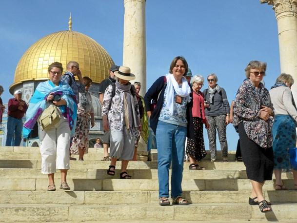 Spændende foredrag om Israel i sognegården