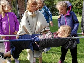 Lejrliv for børn fra KFUM og KFUK