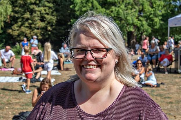 Arrangør Rikke Nielsen havde grund til at smile. Foto: Kurt Bering