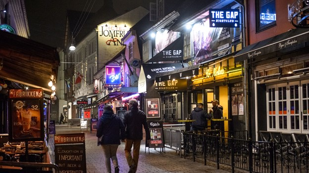 En af Gadens natklubber er kommet under konkursbehandling. Arkivfoto: Nicolas Cho Meier