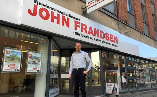 John Frandsen åbner i Løgstør
