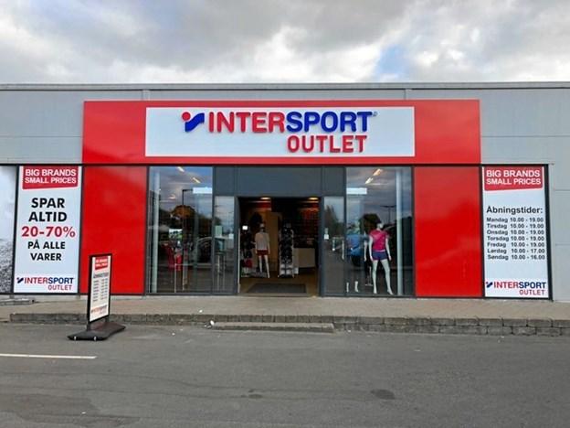 Intersport forventer at være klar i Shoppen inden julehandlen, lyder meldingen. Privatfoto