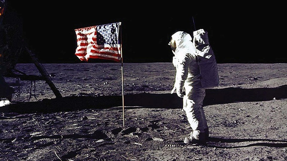 US-APOLLO 11-ANNIVERSARY-FLAG Foto: Scanpix/Nasa