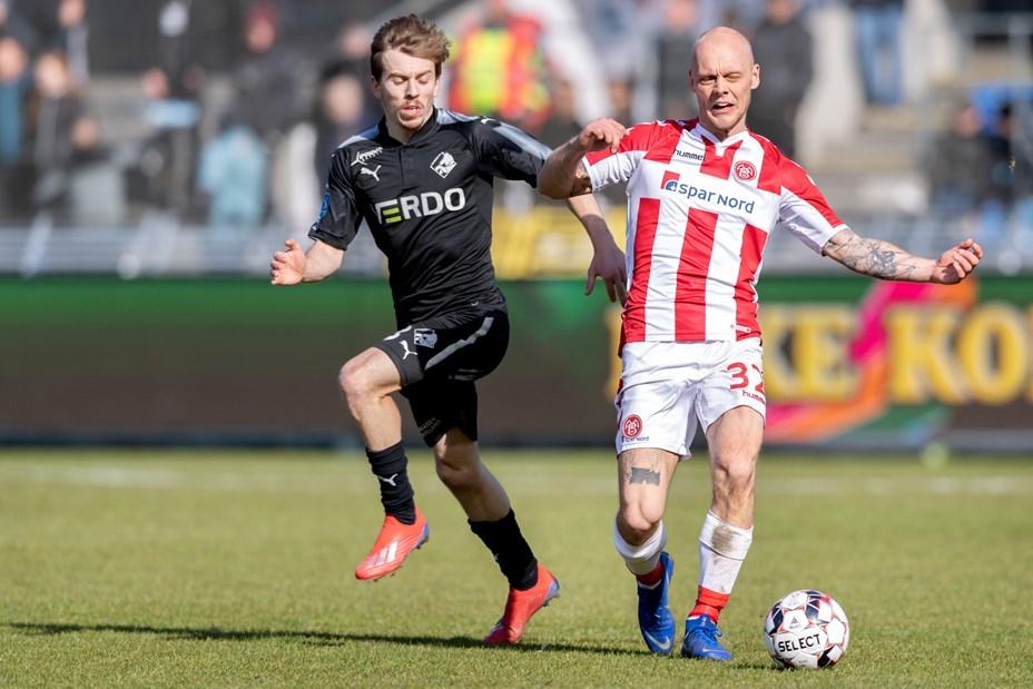 Kasper P. søger udenlands Den tidligere Aabybor IF spiller ønsker ikke at forlænge sin aftale med AaB