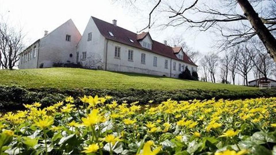 Den traditionsrige påskeudstilling på Gammel Hammelmose er aflyst i år til fordel for en omfattende renovering. Arkivfoto: Henrik Louis