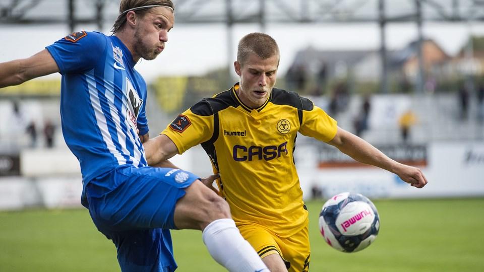 AC Horsens besejrede Esbjerg fB. Foto: Bo Amstrup/Scanpix