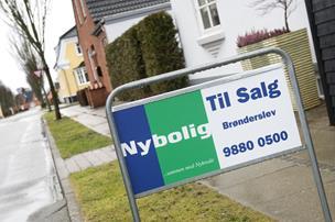Finanskrisen driller endnu: Her halter huspriserne stadig efter
