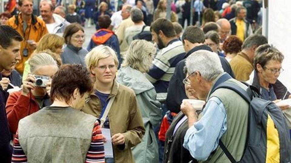 Fiskefestivalen er en stor folke- og turistattraktion. Der gøres nu forsøg på at videreudvikle festivalen. Arkivfoto: Bente Poder
