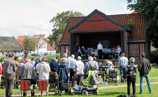Byfestgudstjeneste i anlægget i Løgstør