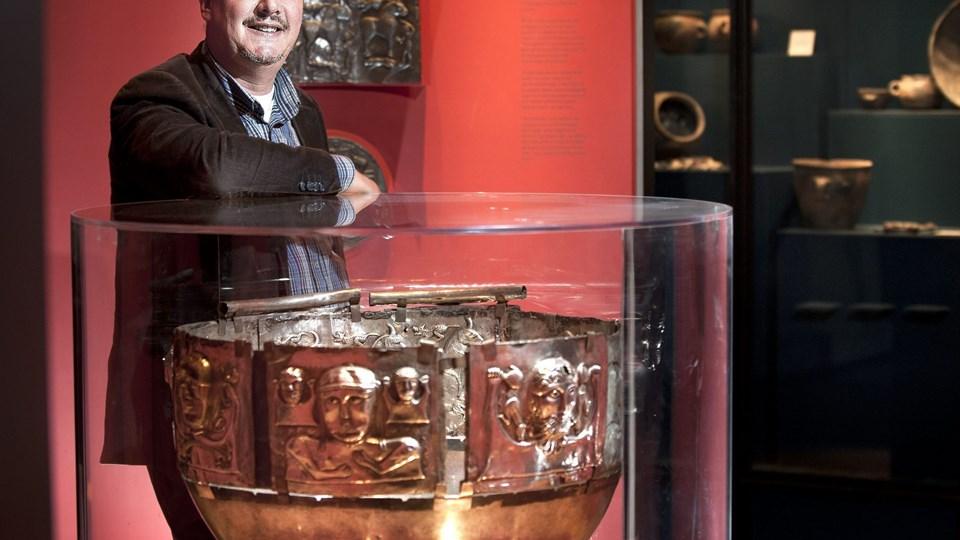 Museumsleder Broder Berg: - Det er første gang i de danske museers historie, at et statsanerkendt museum tager på en så omfattende rundtur i sit geografiske ansvarsområde for at skabe en bred dialog om kulturarven. Arkivfoto: Torben Hansen