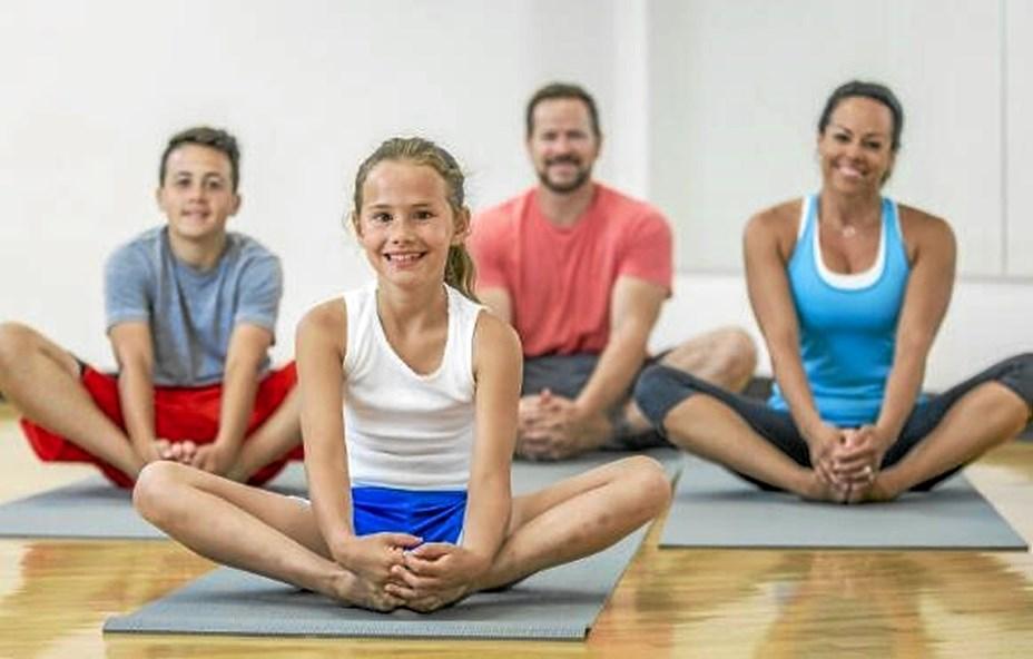 Familieyoga og Mindfulness