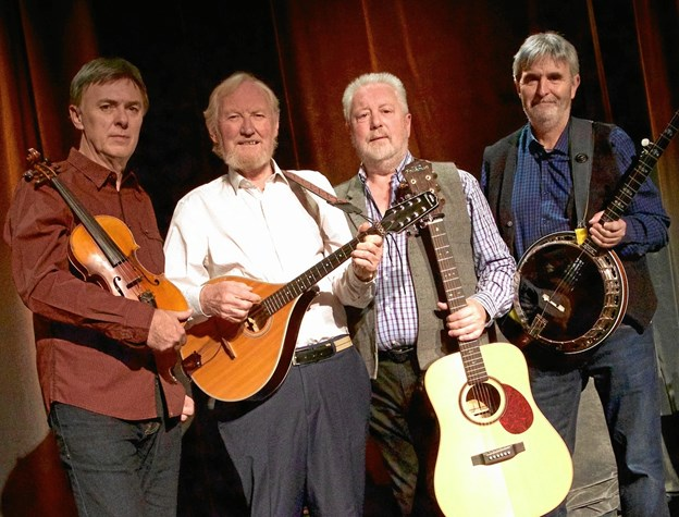 The Dublin Legends tager arven op efter The Dubliners. PR-foto.
