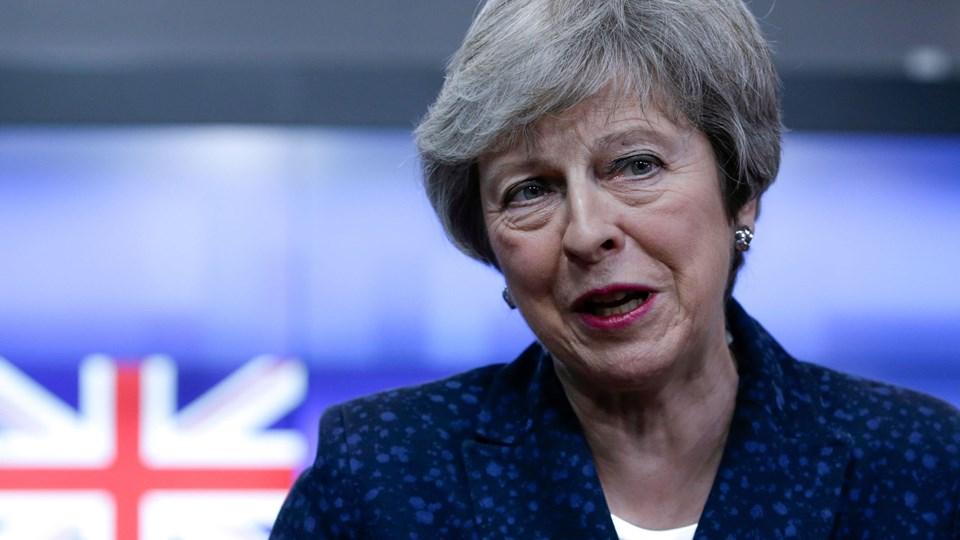 Den britiske premierminister, Theresa May, fremsætter tirsdag en erklæring til parlamentets medlemmer for at orientere dem om hendes bestræbelser på at få gennemført ændringer i den foreliggende brexitaftale med EU.