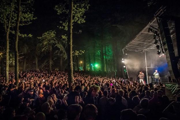 Reservatet var helt tæt pakket til nattens koncert.