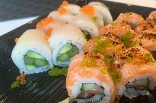 Populær havnerestaurant serverer take-away-sushi: Men smagen lod vente på sig