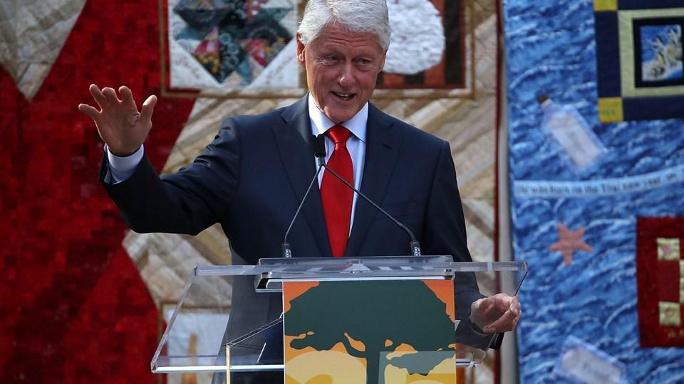 Bill Clinton, der var USA''s præsident fra 1993 til 2001, forlanger, at Myanmar løslader to journalister fra Reuters. Retssagen mod de to ventes at begynde onsdag. Foto: Scanpix/Justin Sullivan/arkiv