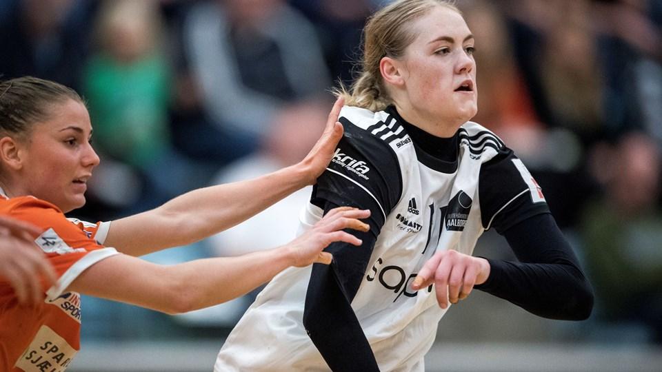Julie Jensen og EH Aalborg tabte klart til Ikast-Herning. Arkivfoto: Lars Pauli