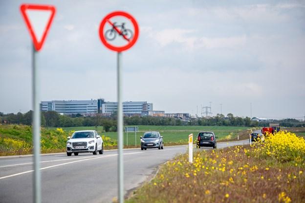 Kommune dropper indvielse af det hidtil dyreste vejprojekt- men måske udvider man