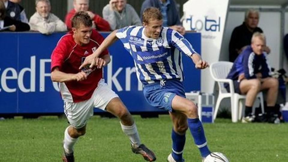 Jeppe Mehl er nu på kontrakt i Esbjerg frem til udgangen af 2012. Arkivfoto: Peter Mørk