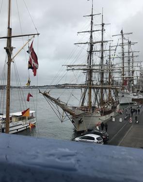 Tall Ships: Regn og blæst påvirker besøgstal og omsætning