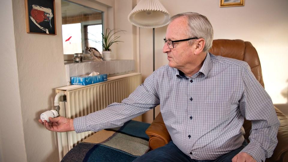 Steffen Mejer Christensen fra Tårs må i år skrue gevaldigt op for betalingen til Tårs Varmeværk