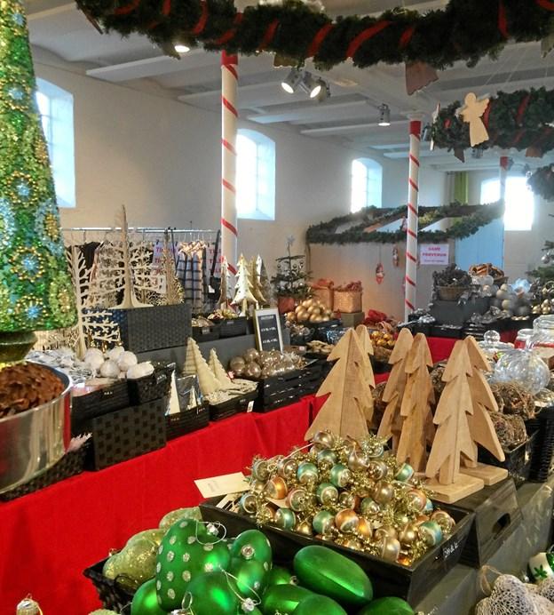 Der er julemarked på Børglum Kloster 1.-2. og 8.-9. december. Privatfoto
