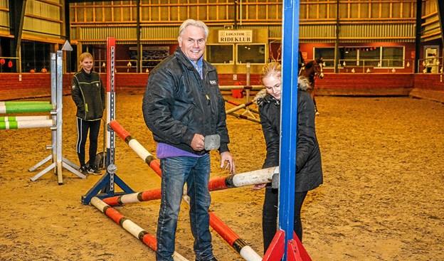 Den nye daglige leder og underviser i både spring og dressur Lars Fedder fra Aars. Foto: Mogens Lynge