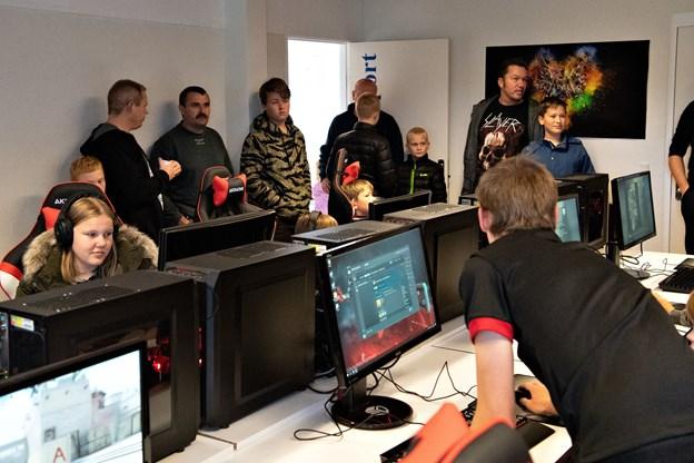 Brundur East har i øjeblikket kun planlagt hold og træning i computerspillet Counter-Strike: Go, men flere kan komme til senere. Foto: Kurt Bering