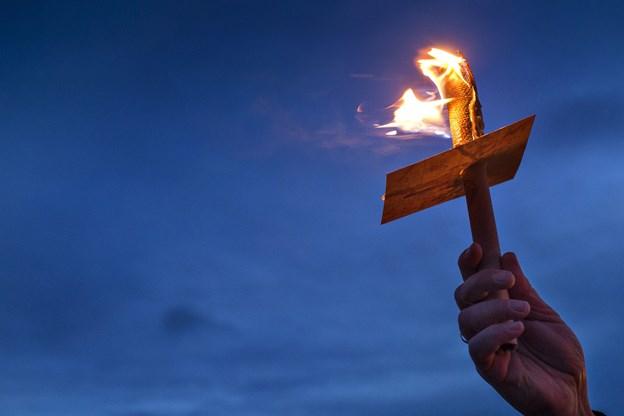 Fakkeltog i flere danske byer minder Sri Lanka-ofre