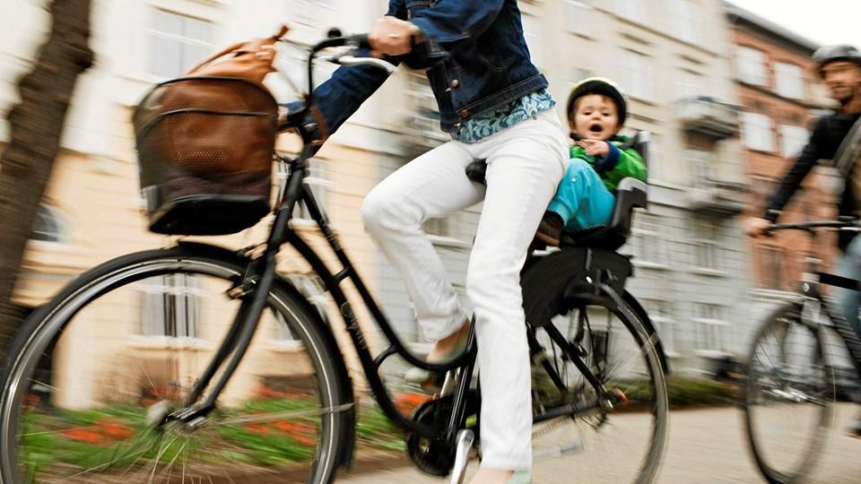 Cykeltyverier er på et historisk lavt niveau, og forsikringsbranchen mener, at skærpede krav til cykellåsene har haft en effekt.Foto: Mikkel Østergaard/Cyklistforbundet