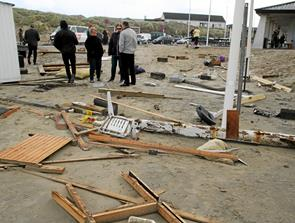 Debat om strand- husene i Blokhus