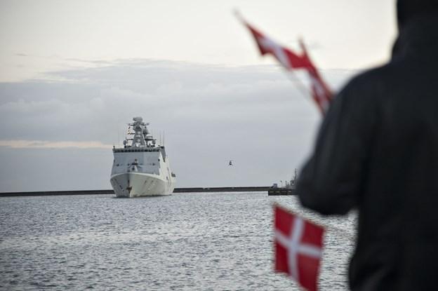Esbern Snare er i øjeblikket kommandoskib for den en af NATOs stående flådestyrker.