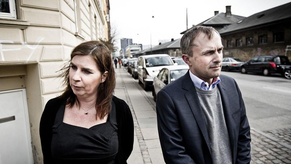 Skole og Forældres formand, Mette With Hagensen, støtter ikke op om Venstres forslag. Foto: Scanpix/Asger Ladefoged