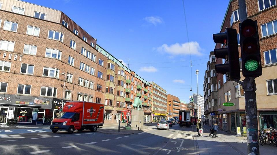 Målestationen skal placeres et nyt sted. Helst tættere på Vesterbro, så de fintfølende apparater ikke bliver forstyrret af vind og vejr. Foto: Jesper Thomasen