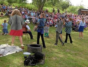 Bølle-Bob samlede 750 tilskuere