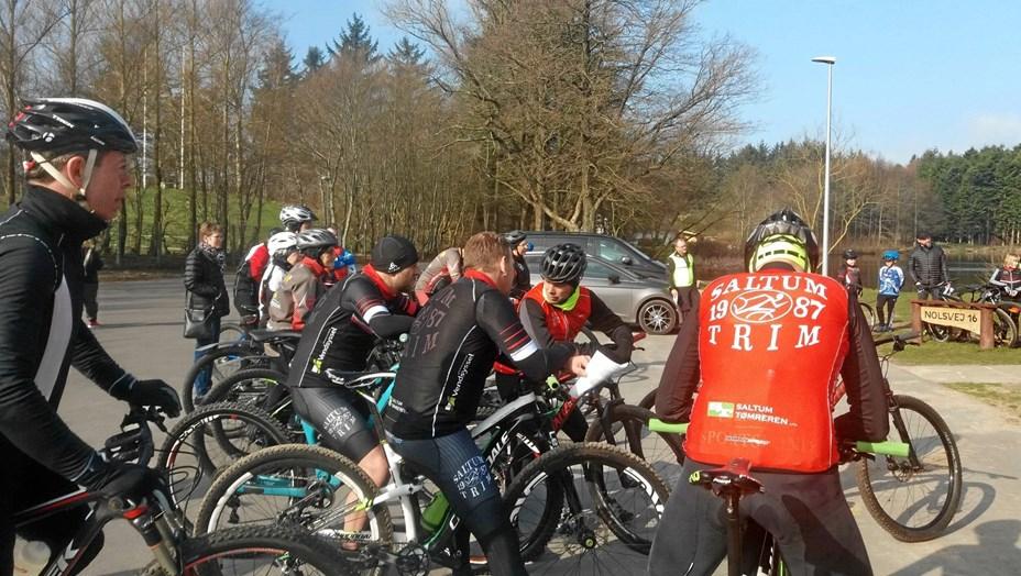 Saltum Trim steg på cyklen