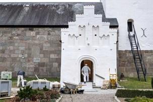 Fire millioner kroners renovering af Durup Kirke vil vare et år